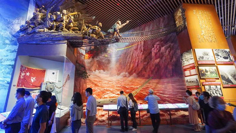 中国共产党历史展览馆正式面向社会公众开放