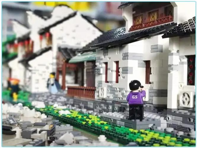 杭州奇妙夜活动乐高积木